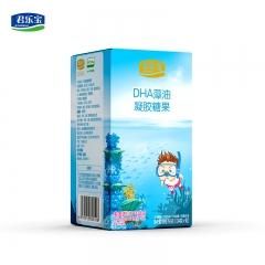君乐宝DHA藻油凝胶糖果90粒装(儿童型)